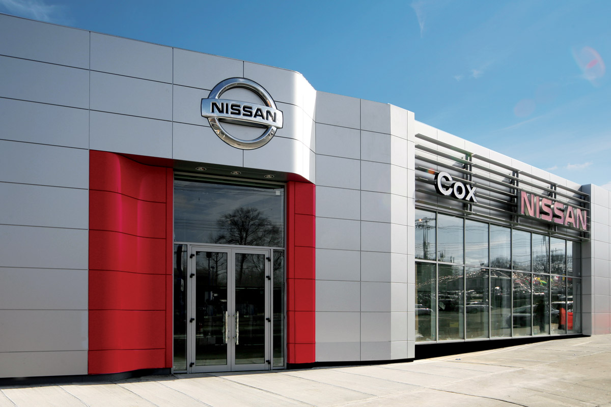 Ettinger engineering associates portfolio cox nissan for Mercedes benz dealer in bronx ny